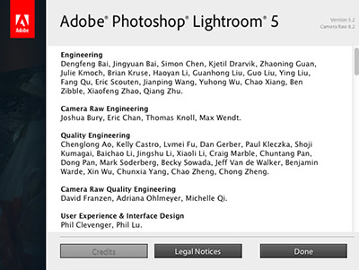 Lightroom 5.2 aktualizacje