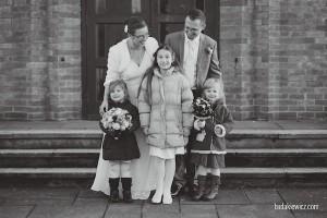 zdjecie rodzinne na slubie w anglii