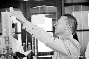 chrzciny w polskim kościele