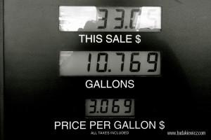 cena galona benzyny w usa