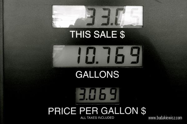 cena galona benzyny w USA 2013