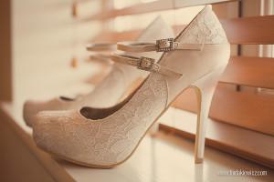 buty na ślub Vintage