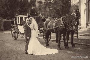 Vintage zdjęcia ślubne