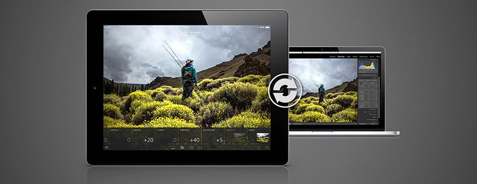 Aplikacja Lightroom mobile na iPad