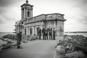 Polski Fotograf w Anglii podczas pracy