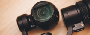 kamera 4k DJI Osmo ze stabilizatorem typu gimbal