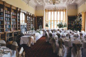 wystrój sali weselnej w Anglii